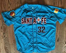 2019 Santa Fe Game Worn Jersey Turquoise #16 Size Large