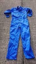 Ladies Or Mens Royal Blue Colour Boilersuit Or Overalls.