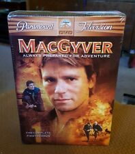 MacGyver - The Complete First Season (Dvd, 2005, 6-Disc Set) New
