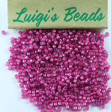 11/0 Miyuki Delica Glass Seed Beads DB2050- Luminous Jazzberry 5g