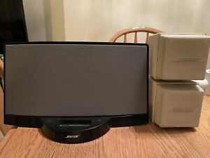Vintage Bose Sound Dock and Bose Mini Speakers
