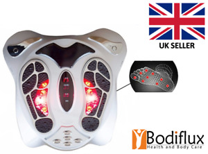EMS Tens Circulation Foot Massager Booster Machine Leg Blood Remote Therapy UK