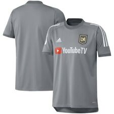 Adidas Lafc Men's training Jersey. New Gray White Soccer Top Size Xl