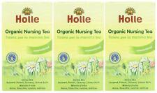 Holle organic nursing thés - 20 sachets de thé (pack de 3)