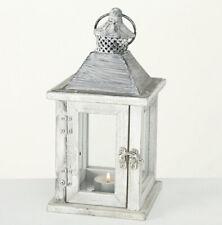 Laterne Stella Holz natur H25cm Windlicht Dekolaterne Landhaus Zuhause