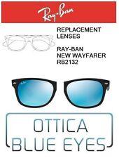 Lenti di Ricambio RAYBAN NEW WAYFARER RB2132 Replacement Lenses Ray Ban BLUE 17