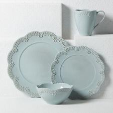 Lenox Chelse Muse Scallop Floral Blue 4-piece Place Setting