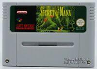 Super Nintendo SNES - Secret Of Mana - Pal Fr / Reproduction