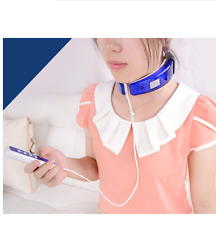 WIRELESS REMOTE CONTROL NECK MASSAGER FAR INFRARED HEATING HEALTH CARE THERAPY