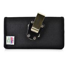 Google Pixel 2 XL Belt Case Fits Slim Case Black Nylon Heavy Rotating Belt Clip