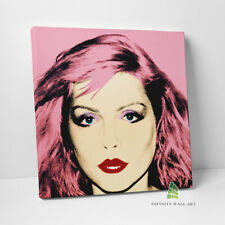 More details for andy warhol debbie harry canvas art pop art wall art abstract print picture-c886