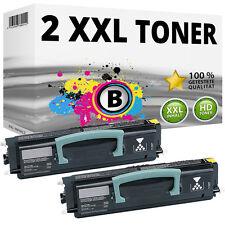 2x XXL TONER Patronen für LEXMARK X203N X204N Toner-Kartusche Toner-Kassette