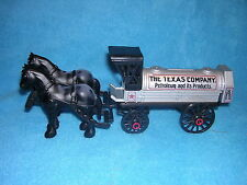 Texaco Horse & Tanker Die-Cast Locking Bank Collector's Series #8
