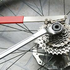 Bicycle Cassette Freewheel Remover Wrench Sprocket Chain Whip Repair Tool MC