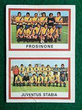 CALCIATORI 1973-74 73-1974 n 594 FROSINONE JUVENTUS STABIA , Figurina Panini NEW
