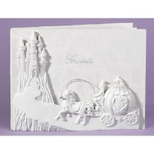 Once Upon A Time Horse and Carriage Fairytale Wedding Guest Book