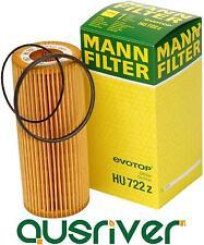 Genuine Mann HU 722 Z Oil Filter for Audi A3 A4 A5 A6 A7 A8 Q3 Q5 Q7 Touareg
