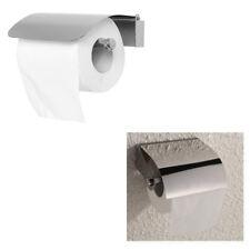 Porta Rotolo Carta Igienica Da Muro Accessorio Bagno Wc Acciaio Inox Parete 239