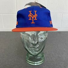 New York Mets Competitor Hat Snapback Cap VTG Deadstock MLB Adult Side Print