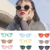 Women Vintage Cat Eye Sunglasses Round Classic Retro Fashion Shades Eyewear Hot