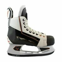 VERBERO CYPRESS JUNIOR ICE HOCKEY SKATES (WHITE)