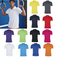 AWDis Just Cool Smooth Polo - Men's Polyester Sports/performance/golf/tennis top