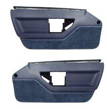 84 85 Corvette C4 Standard Door Panels - Pair in BLUE