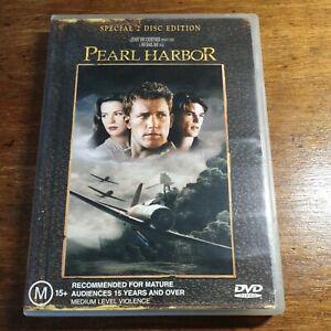 Pearl Harbor Ben Affleck DVD R4 Like New! FREE POST