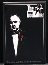 "The Godfather Movie Poster 2"" X 3"" Fridge / Locker Magnet. Brando Al Pacino"
