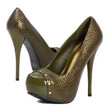 Women's Animal Print Patent Leather Heels