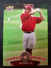 Tiger Woods 2010 Upper Deck World of Sports #302 NM-M
