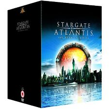 STARGATE ATLANTIS Complete Series Season 1, 2, 3, 4 & 5 DVD Box Set  21 Discs