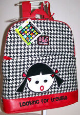 NWT DAVID & GOLIATH Stupid Factory LOOKING FOR TROUBLE Trendy Wendy BACKPACK