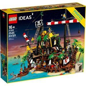 LEGO 21322 new - IDEAS - I PIRATI DI BARRACUDA BAY