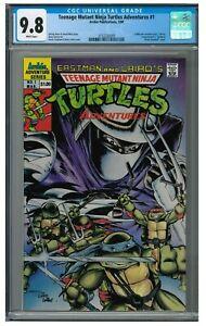 Teenage Mutant Ninja Turtles Adventures #1 (1989) Archie Comics CGC 9.8 AA700
