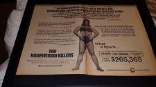 The Honeymoon Killers Rare Original 1968 Promo Poster Ad Framed!