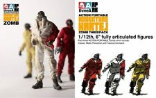 ThreeA Adventure Kartel AP Boiler Zomb  3 Pack 1/12 set  3A Action Portable