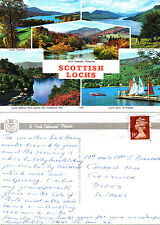 1990's MULTI VIEWS OF SCOTTISH LOCHS SCOTLAND COLOUR POSTCARD (s)