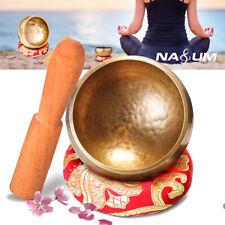 More details for 9cm yoga meditation healing singing bowl cushion tibetan buddhism relaxation uk