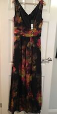 Banana Republic 100% Silk Maxi Dress Size UK12