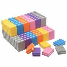 Nail Buffer Block for Acrylic Nails 100pcs Mini Sponge Files Polisher Nail Art