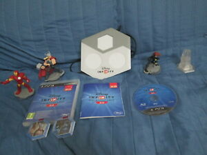 PS3 : DISNEY INFINITY 2.0 Marvel Super Heroes STARTER PACK ! Completo di tutto!