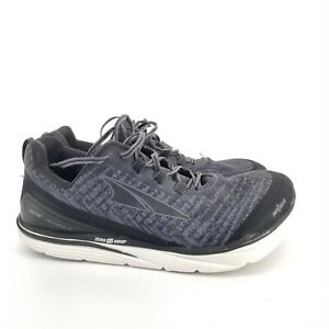 B16 Altra Mens Gray Zero Drop Foot Shape Lace Up Sneaker Athletic Shoes Sz 11.5