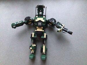 Mega Bloks Blok Bots Commander Figure