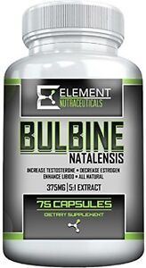 BULBINE NATALENSIS (375mg 75ct) 100% Natural Testosterone Booster