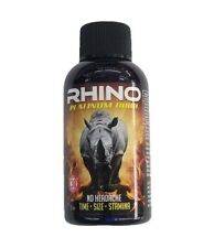 RHINO Shot 8000 Male Enhancement Shot.120ml Bottle,Works In 30 Mins, No Headache