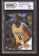 KOBE BRYANT RC 1996-97 NBA HOOPS #281 LAKERS ROOKIE GEM ELITE 10 PRISTINE