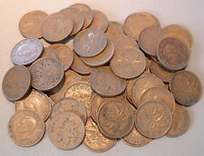 CANADA  1 CENT 1943  VG to F+ ****50 pcs lot*****