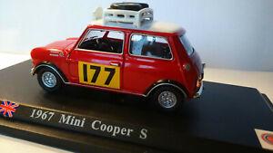 Mini-COOPER Rallye MonteCarlo 1967 1:43 OVP