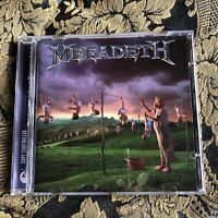 MEGADETH cd YOUTHANASIA Remastered Remixed + bonus tracks Metallica